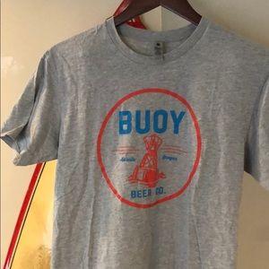 BUOY Beer Co medium T-shirt Astoria Oregon